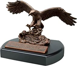 Lighthouse Christian Products Moments of Faith Standard Eagle Sculpture with Base Size 5 5/8 x 7, 6