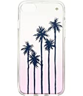 Kate Spade New York - Palm Tree Ombre Phone Case for iPhone 8
