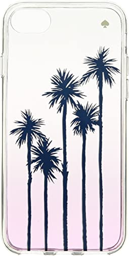 Kate Spade New York Palm Tree Ombre Phone Case for iPhone 8