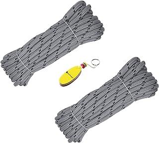 SmartProduct Festmacherleine 8m oder 15m x 14mm Ankerleinen mit integrierte Gummi Ruckdämpfer und 60 cm Schlaufe, Ankerleine, Bootsleinen Festmacher, Leine, Ankerseil, Bootsleine Seil