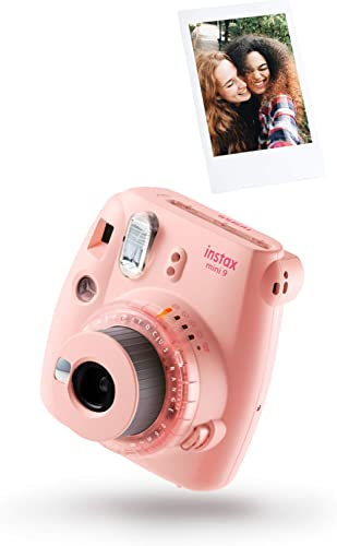 Pack Instax Mini 9 Clear Pink + 1 Film (10 Vues)