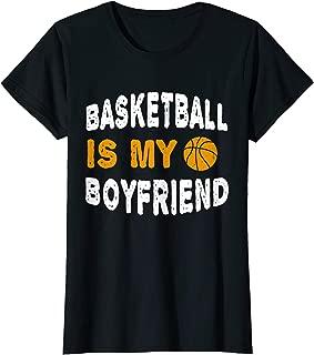 Womens Basketball is My Boyfriend TShirt Athletic Sport Funny