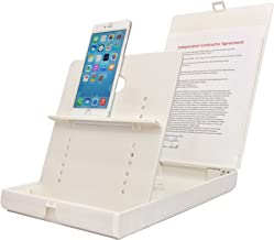 ScanJig Pro Plus - Document Scanning Stand - Phones/Tablets - Extended Tablet Support (e.g, iPad Pro) + Book Scan Bracket. Helps Those who are Blind, Visually Impaired or Have Fine Motor Difficulties