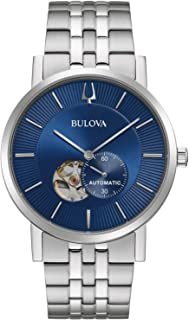 Bulova Classic Automatic Men's Stainless Steel, Silver-Tone