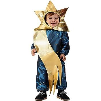 Atosa-17257 Atosa-17257-Disfraz Estrella niño bebé-talla 6 a 12 ...