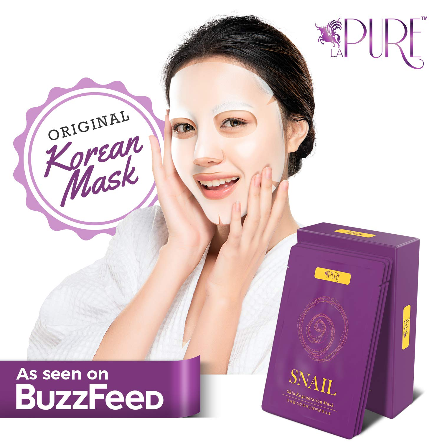 PURE Korean Face Mask Anti Wrinkle
