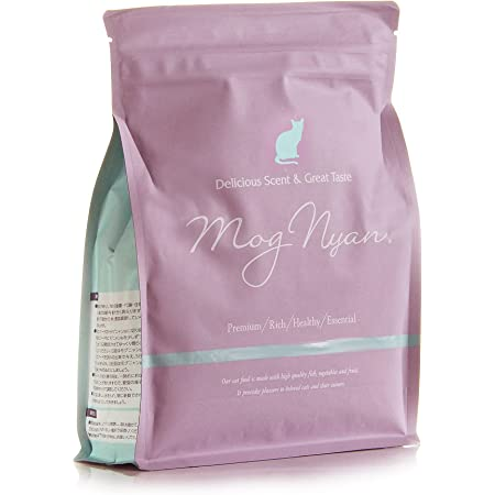 モグニャンキャットフード (1.5kg) グレインフリー 穀物・香料・着色料不使用 白身魚 全猫種 全年齢 対応