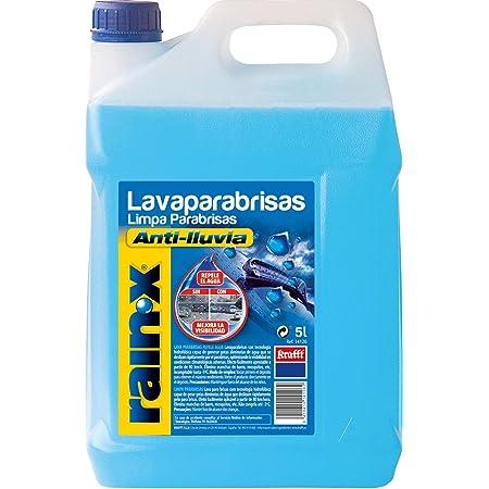 Rain-X 14126 Lavaparabrisas anti-lluvia protección -5°C, Fabricado en España, Repelente lluvia, Parabrisas, 5 litros