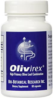 Bio-Botanical Research Olivirex Highest Potency Olive Leaf Combination, 60 Capsules