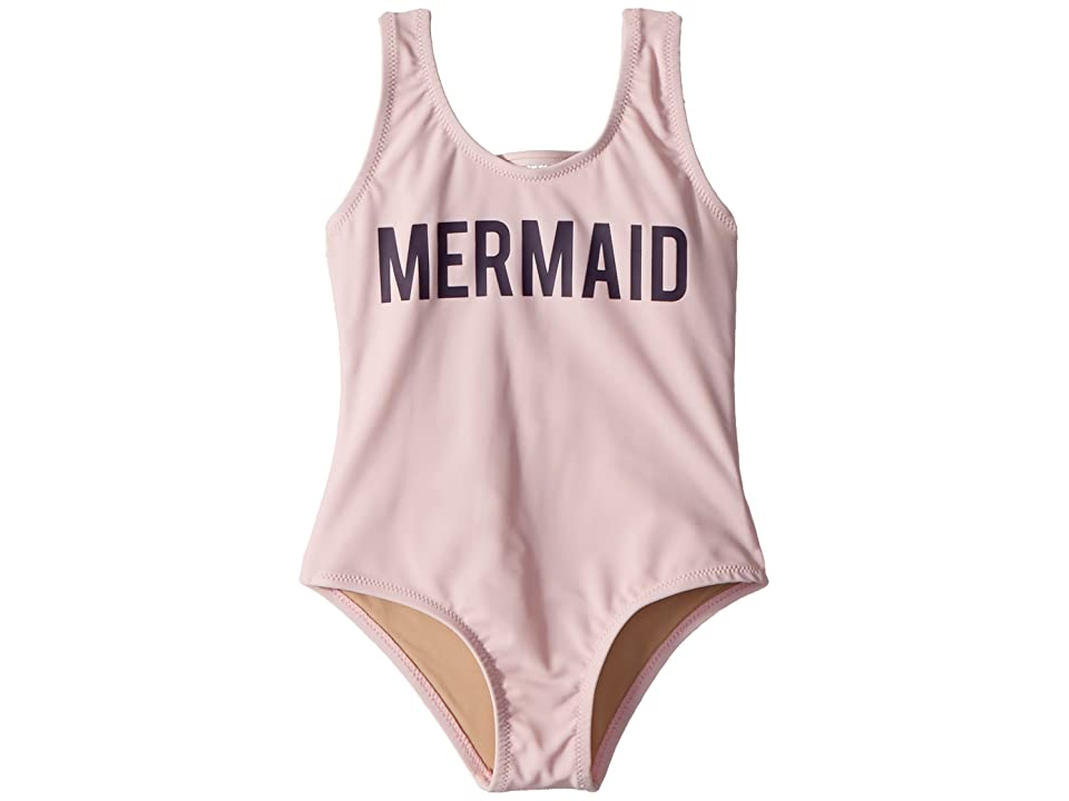 shade critters Mermaid One-Piece Scoop (Infant/Toddler) (Pink) Girl