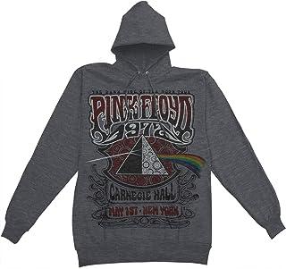 b22ef92c Pink Floyd Men's Carnegie Hall Hooded Sweatshirt Grey