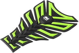 Mad Hornets Tank Pad Protector Sticker for Yamaha Honda Kawasaki Fish Bone Gas Decal Green