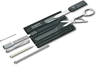 VICTORINOX SWISS CARD CLASSIC 0.7133.T3 BLACK TRANSPARANT Swiss made functional companion with 10 functions