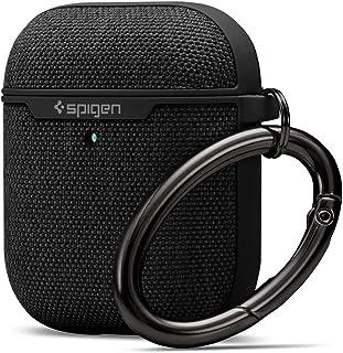 Spigen Urban Fit zaprojektowane do Apple Airpods Case Cover do słuchawek Airpods 1 & 2 [Widoczne światło LED] - czarne