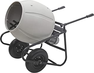 Drum Klutch Portable Electric Cement Mixer Ft 6 Cu