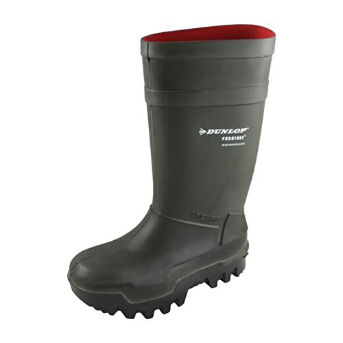 WELLINGTON WELLIE WELLY BOOT,THERMAL FARM GREEN,LIKE PUROFORT LIGHT WEIGHT