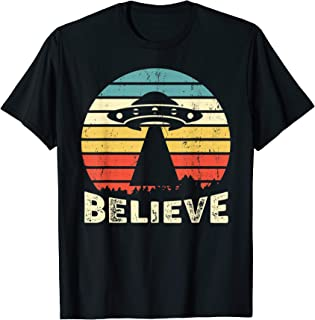 Vintage Alien UFO Hunter Shirt I Want To Believe T-Shirt