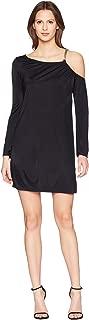 Collection Abito Donna Chain Strap Dress Nero 42 (US 6)