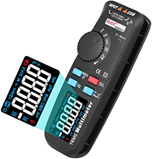 BSIDE ADM92CL True-RMS Digital Multimeter Color Display 6000 Counts Auto-Ranging TRMS Pocket DMM Live Wire Check V-Alert T...