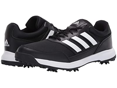 adidas Golf Tech Response 2.0 (Core Black/Footwear White/Core Black) Men