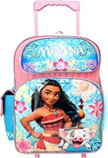 """Disney Moana 16"""" inches Rolling Large Backpack - New with Tags"""