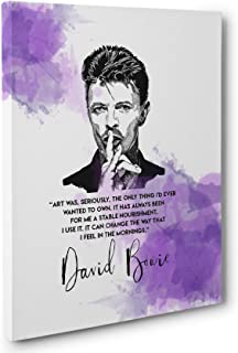 Best david bowie canvas wall art Reviews