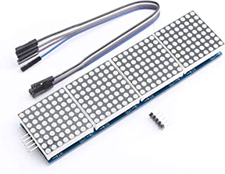 DEVMO MAX7219 Dot led Matrix MCU Control LED Display Module for Arduino Raspberry Pi