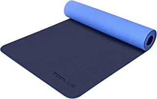 TOPLUS Yoga Mat, 1/4 inch Non-Slip Yoga Mat Eco Friendly...