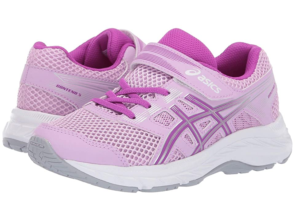 ASICS Kids Gel-Contend PS (Toddler/Little Kid) (Astral/Orchid) Girls Shoes