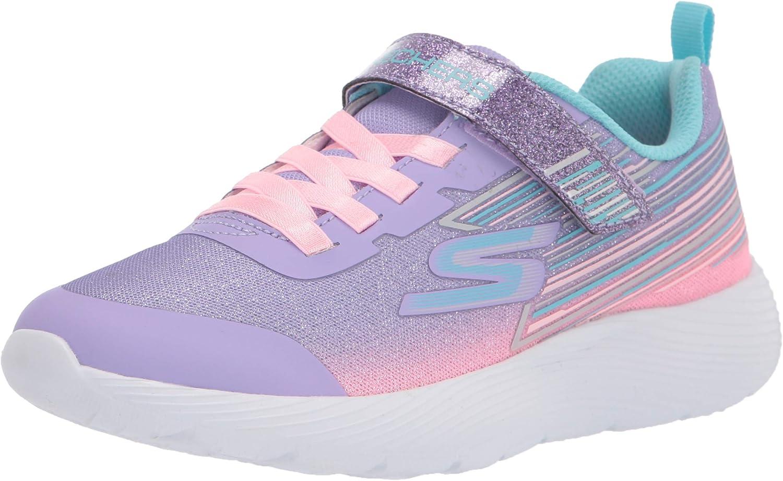 Skechers Kids Girls, DYNA-LITE - SHIMMER STREAKS, Sneaker, Lavender/Multi, 13.5