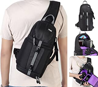 Kenox Camera Sling Backpack for DSLR and Mirrorless Cameras