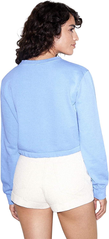 American Apparel Women's French Terry Cord Sweatshirt