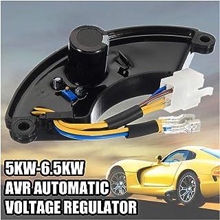 XIAOFANG Fangxia Store Nuevo regulador de Voltaje automático del generador de Gasolina AVR 1 Fase para 5KW 5.5KW 6KW 6.5KW Rango de Ajuste 160V-260V