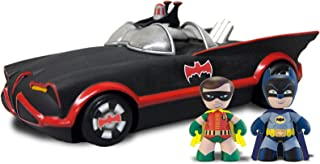 Mezco Toys Mini Mez-Itz: 1966 Batmobile with Batman and Robin