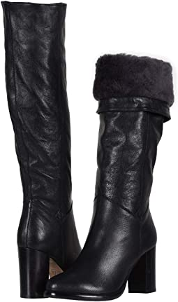 bc0f667b77d Frye tamara shearling over the knee