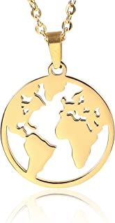 Best gold earth necklace Reviews