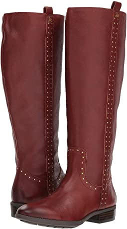 Prina Wide Calf Leather Tall Boot