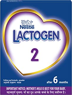 Nestlé LACTOGEN 2 Follow-Up Infant Formula Powder (After 6 months), Stage 2-400g Bag-In-Box Pack