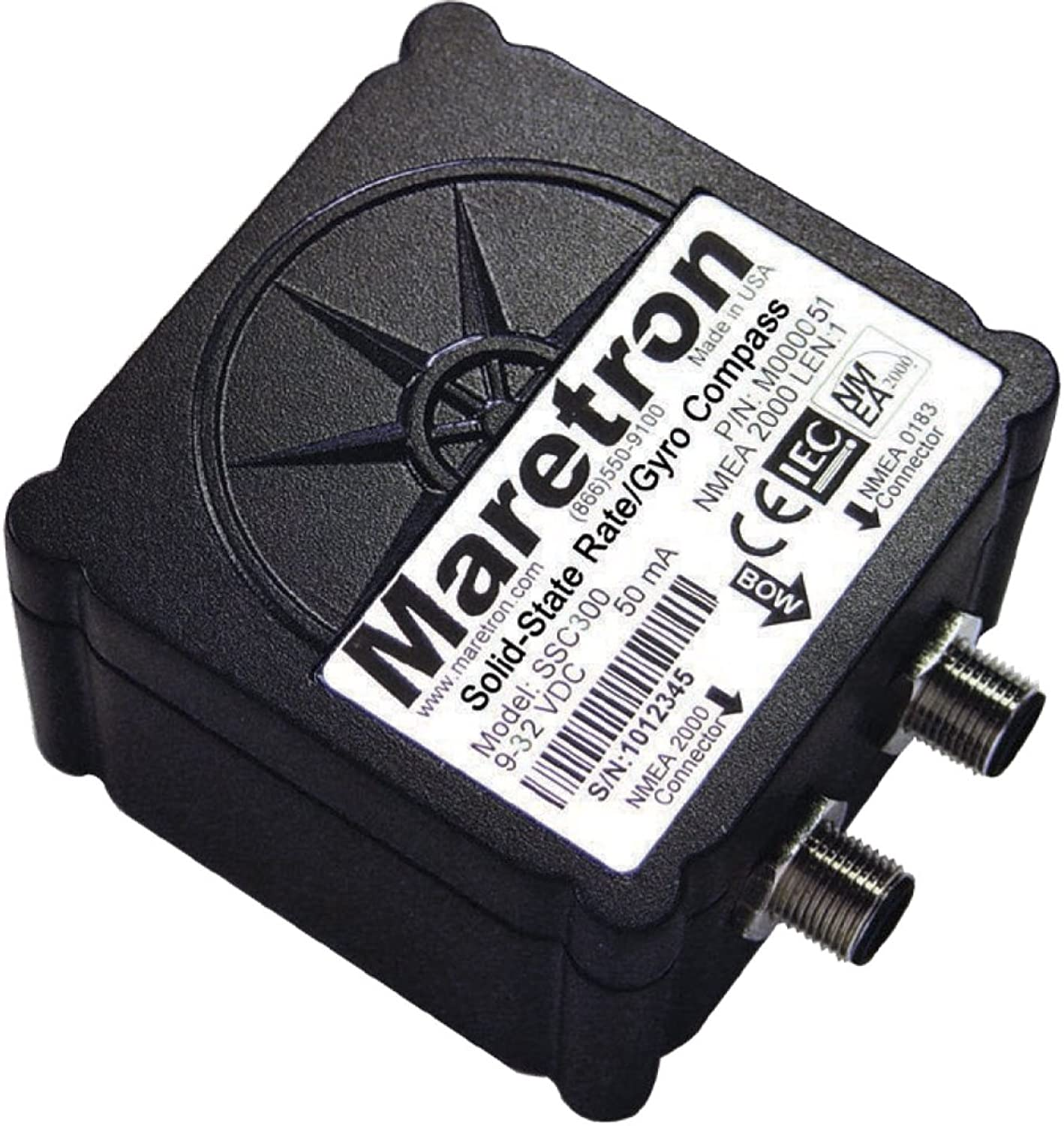 Maretron SolidState Rate Gyro Compass w o Cables (SSC30001) (57661)