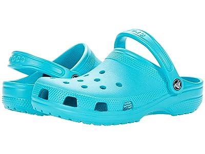 Crocs Classic Clog (Digital Aqua) Clog Shoes