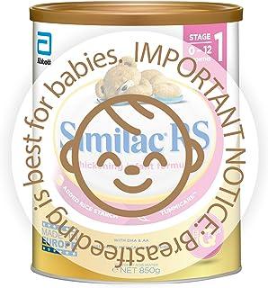 Abbott Similac RS Stage 1 EyeQ Infant Milk Formula, 0-12 months , 850g