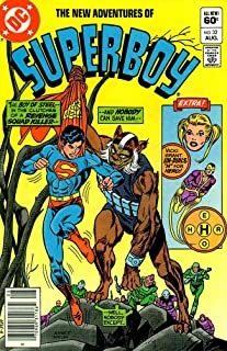 New Adventures of Superboy, The #32 (Newsstand) FN ; DC comic book