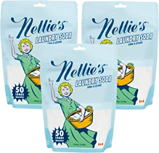 Nellie's Laundry Soda - 50 Load - Pack of 3