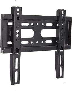 SJBRWN テレビ壁掛け金具 15~42インチ 極薄型液晶PCモニター 小型固定式TV壁掛け金具 19 22 32 40型 VESA対応最大200×200mm 耐荷重25kg