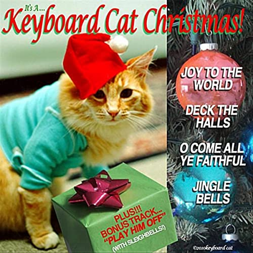 It's A Keyboard Cat Christmas! by Keyboard Cat on Amazon