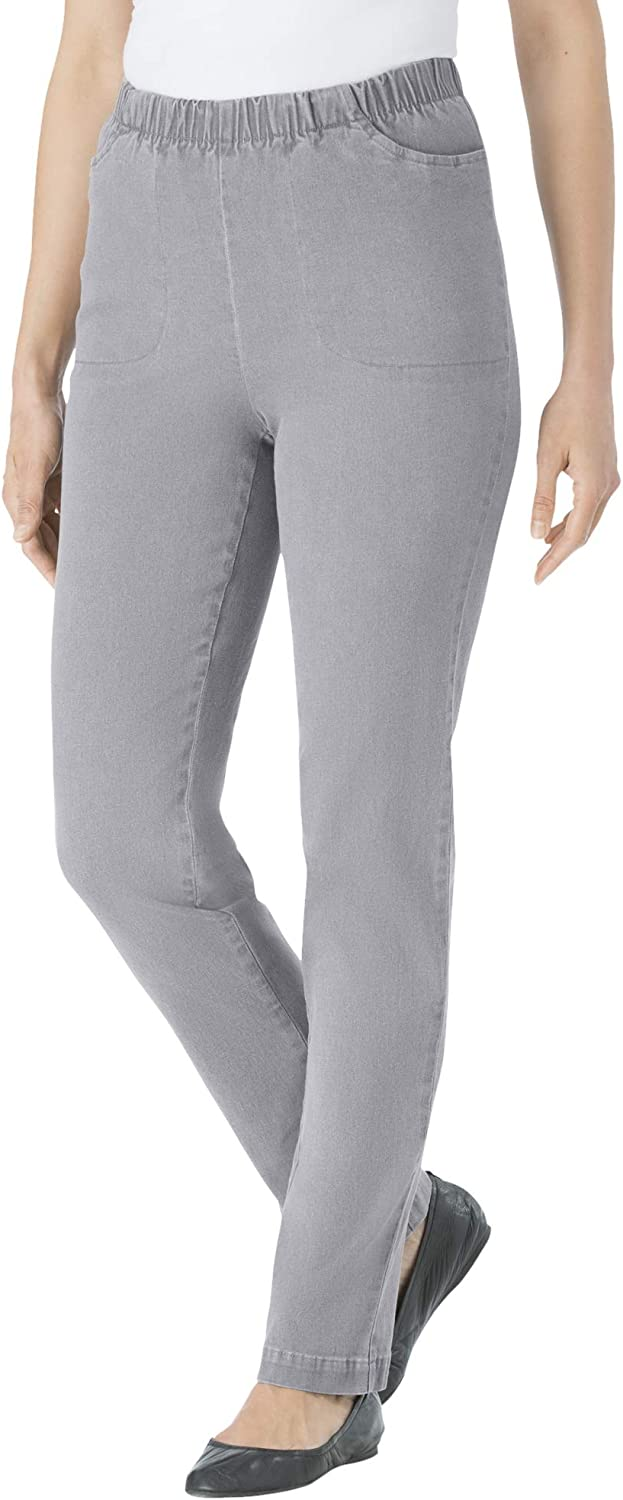 Max 48% OFF Woman Limited time for free shipping Within Women's Plus Size Fineline Leg Petite Jean Straight