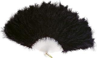 Boland 00647 - Fächer, circa 25 cm, schwarz