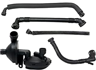 PCV Valve Positive Crankcase Vent Valve Breather Hose Kit For BMW E46 3 SERIES E39 E60 X3 X5 11157532649 11617501566 11611432559 11617504535 11617504536, PCV Crank Case Ventilation Oil Separator Hose