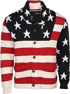 Polo Ralph Lauren Men's Flag Cotton-Blend Cardigan