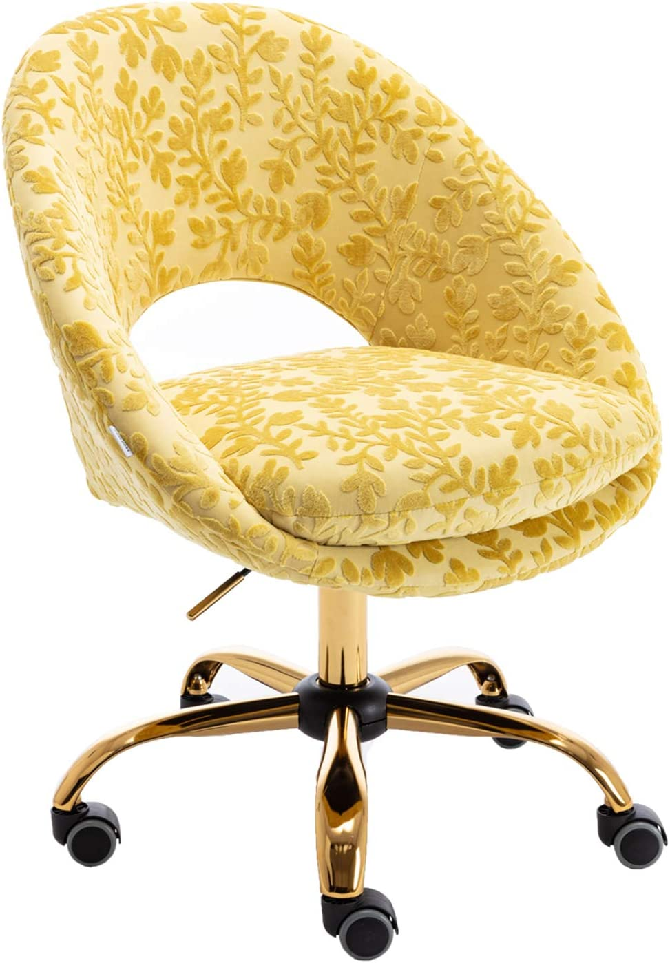 55% OFF Olela Stylish Desk Chair Industry No. 1 Modern Gold Task Upholstered with